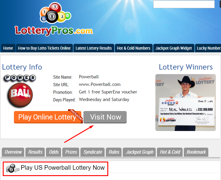 Choose the lottery